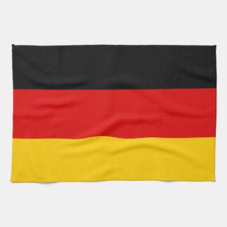 Patriotic German Flag Tea Towel