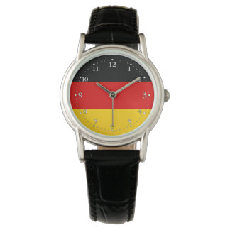 Patriotic German Flag Wrist Watch