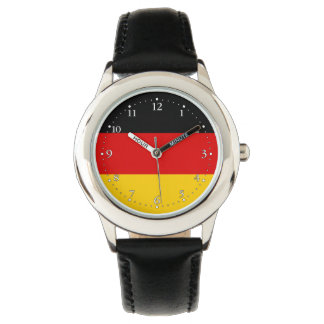 Patriotic German Flag Wristwatch
