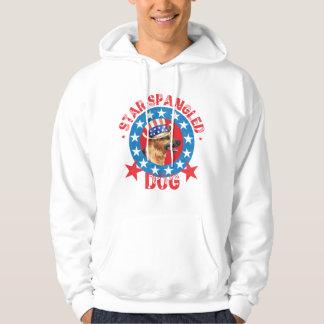 Patriotic German Shepherd Hoodie