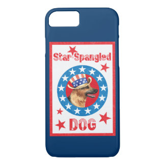 Patriotic German Shepherd iPhone 8/7 Case