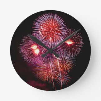 Patriotic Gifts Fireworks from the 4th of July Wallclocks