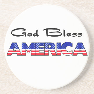 Patriotic God Bless America Coasters