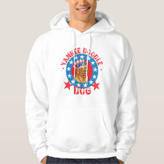 Patriotic Golden Retriever Hoodie