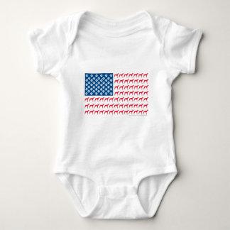 Patriotic Greyhound Dog T Shirts