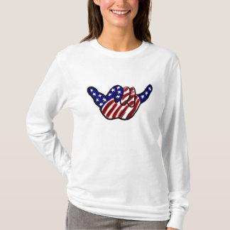 Patriotic hang loose hoodie