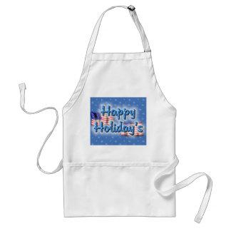 Patriotic Happy Holiday's Aprons