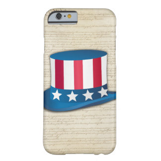 Patriotic Hat Barely There iPhone 6 Case