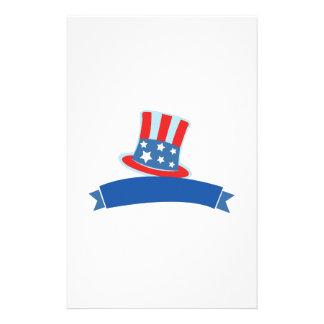 Patriotic Hat Stationery