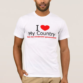 Patriotic I love my country t-shirt