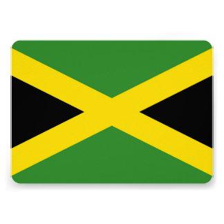 Patriotic invitations with Jamaica Flag Custom Invitations