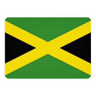 Patriotic invitations with Jamaica Flag