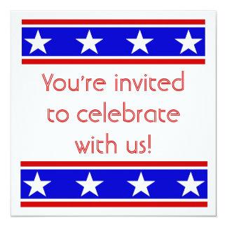 Patriotic Invite