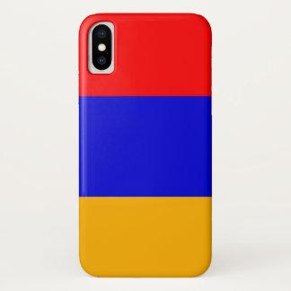 Patriotic Iphone X Case with Armenia Flag