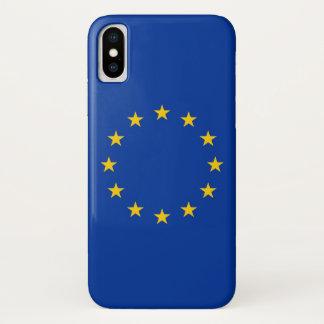 Patriotic Iphone X Case with European Union Flag