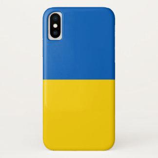 Patriotic Iphone X Case with Flag of Ukraine