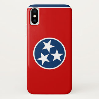 Patriotic Iphone X Case with Tennessee Flag