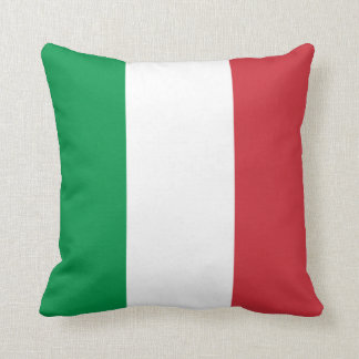 Patriotic Italian Flag Cushion