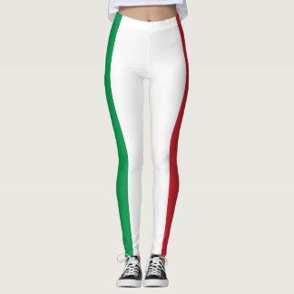 Patriotic Italian Flag Leggings