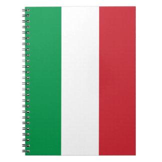 Patriotic Italian Flag Notebook