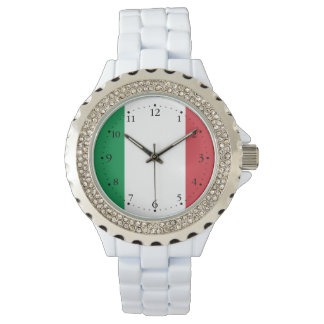 Patriotic Italian Flag Watch