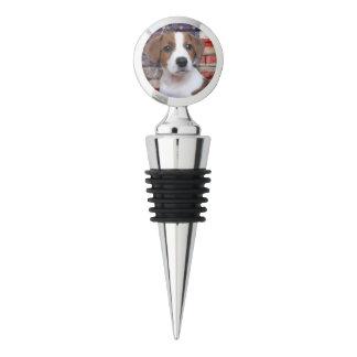 Patriotic Jack Russell Terrier Wine Stopper