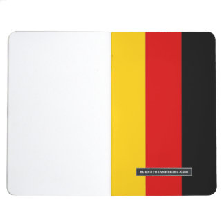 Patriotic journal with Flag of Germany