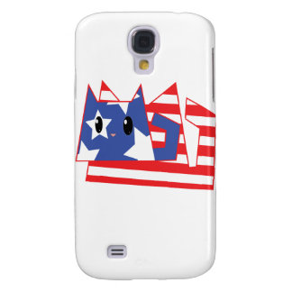 Patriotic Kitty Galaxy S4 Cover