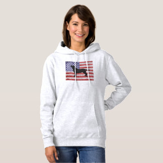 Patriotic Labrador Retriever 4th of July Hoodie