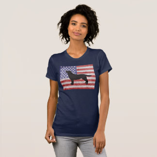 Patriotic Labrador Retriever 4th of July T-shirt