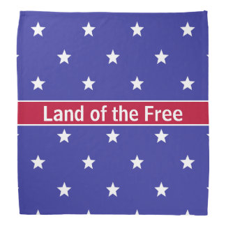 Patriotic Land of the Free Bandana