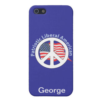 Patriotic Liberal American iPhone 5 Covers