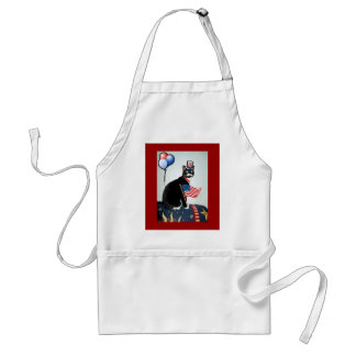 Patriotic Lucy Standard Apron