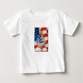 Patriotic Mason Baby T-Shirt