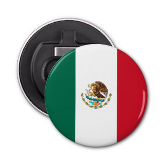 Patriotic Mexican Flag Bottle Opener