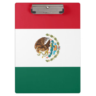 Patriotic Mexican Flag Clipboard