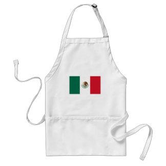 Patriotic Mexican Flag Standard Apron