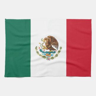 Patriotic Mexican Flag Tea Towel