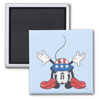 Patriotic Mickey Mouse 3 Magnet
