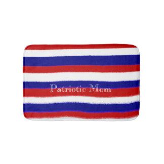 Patriotic Mom Bath Mat Bath Mats