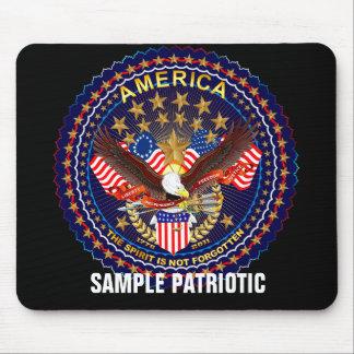 Patriotic  mouse pad