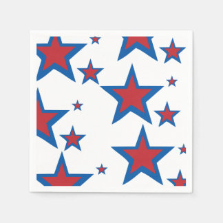 Patriotic Napkins Disposable Napkin