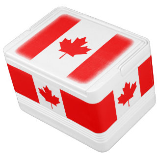 Patriotic National Flag of CANADA Cooler