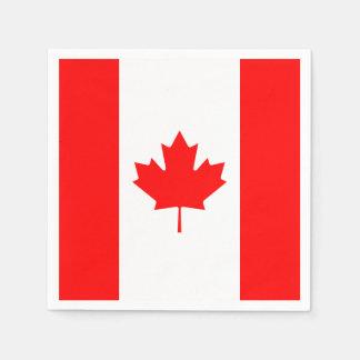 Patriotic National Flag of CANADA Disposable Napkin