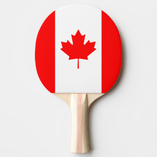 Patriotic National Flag of CANADA Ping Pong Paddle