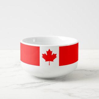 Patriotic National Flag of CANADA Soup Mug