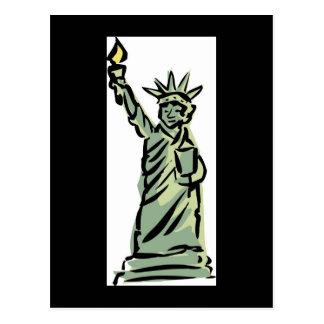 Patriotic New York Weddings Save The Date Cards Postcards
