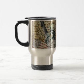 Patriotic NewYork Statue of Liberty vintage Mug