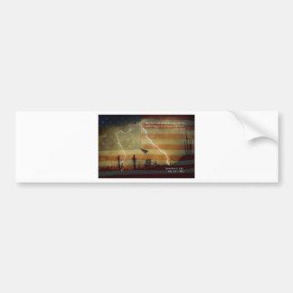Patriotic Operation Geronimo-E KIA Car Bumper Sticker