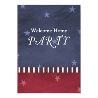 Patriotic or Military Party Invitation